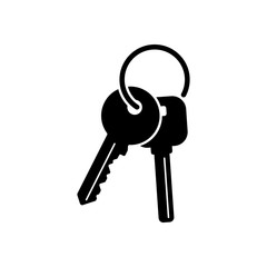 keys on the ring icon