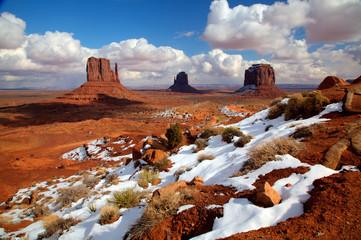Door stickers Drought Desert Snow