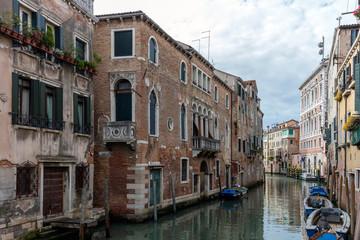 Rio de San Polo canal in the Venetian quarter of San Polo