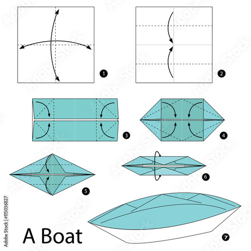 The gallery for how to make a paper boat step by step for Net making instructions