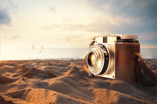 Photographs on holiday