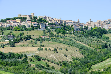 Acquaviva Picena small village on Marche