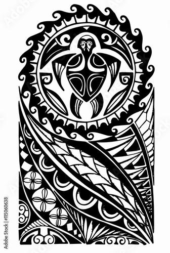 bbadee297ee3b Maori half sleeve tattoo