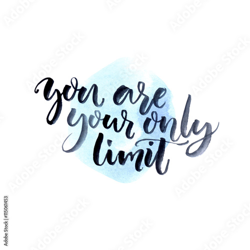 Quot You Are Your Only Limit Fitness Motivation Quote