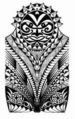 Maori halfsleeve tattoo