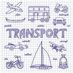 Set of sketches transportation
