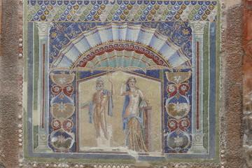 Mosaik in Pompeji