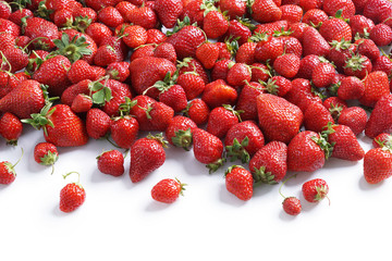 Fresh strawberry background. Close up, High resolution product.