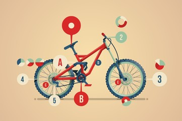 mountain bike infographic