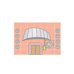 the Wax Museum. icon, symbol, emblem. vector illustration.