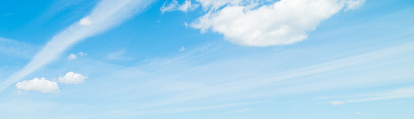 white stripes in the sky