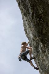 Kletterer in der Steiermark,Österreich