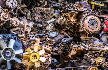 dump car parts