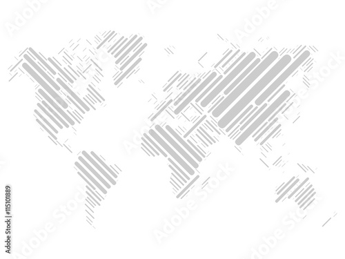 World map mosaic of grey blocks with rounded corners on white world map mosaic of grey blocks with rounded corners on white background vector map of gumiabroncs Image collections