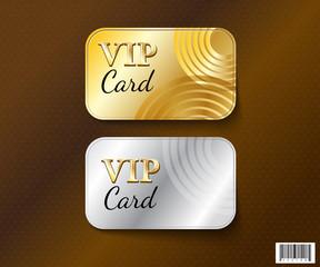 VIP card symbol design-vector file