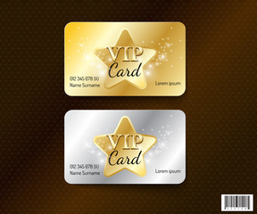 VIP card symbol design-vector file
