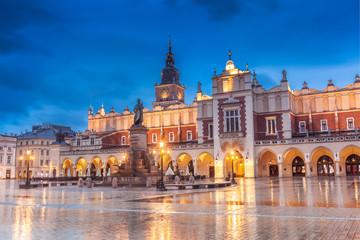 Fototapeten Krakau Krakow Old Town