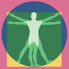 Homme - Proportions - Vitruve