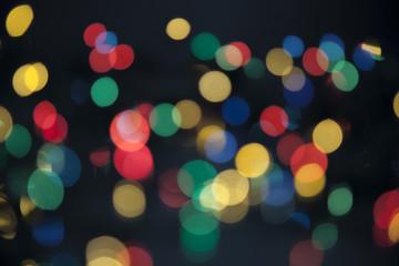 lights bokeh background