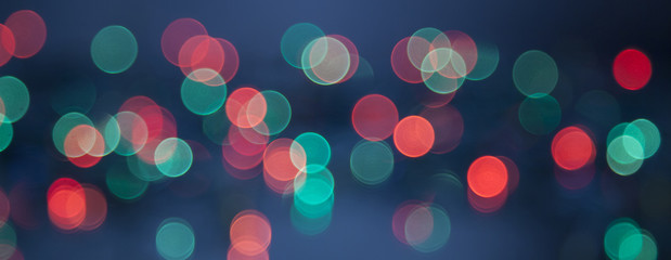 colorful bokeh background