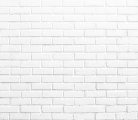 Abstract square white brick wall background.