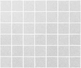 Abstract square white tiles wall background.