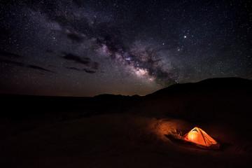 Camping under the Stars Reflection Canyon Utah USA