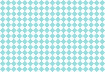 Blue checkered pattern seamless background