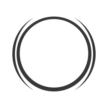 grey circle icon