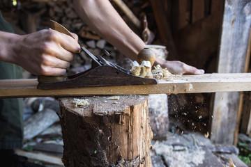 Planer woodworking