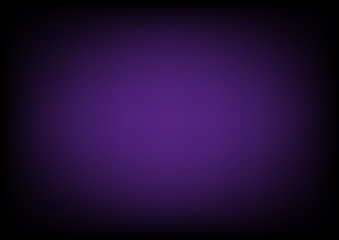 Purple Black Gradient Blur Empty Space Background. Vector Illustration