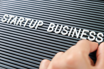 start up business concept background