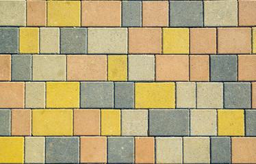 Tiled floor texture.