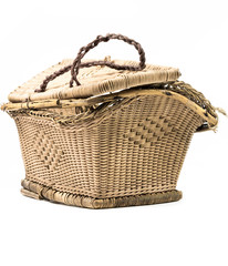 Basket ancient 100 years old