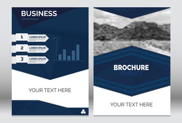 Brochure template layout A4 size