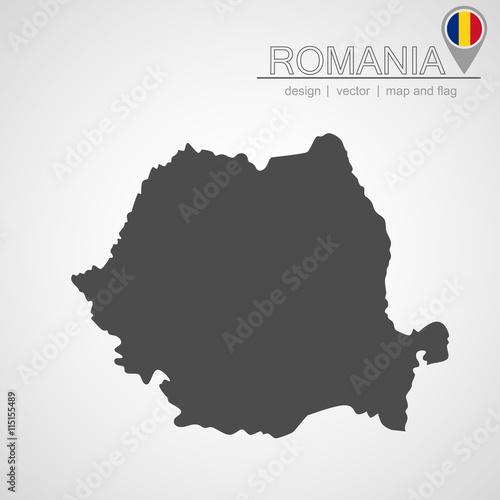 Romania map and location\