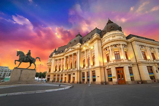 Bucharest City by Night