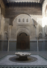 Bou Inania medersa Fes Morocco