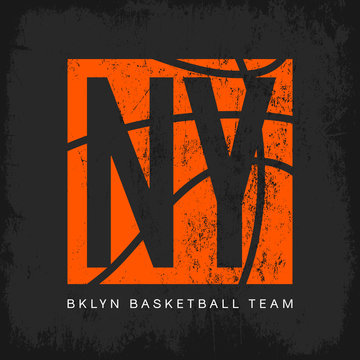 New York t-shirt emblem