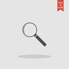 magnifier - vector icon