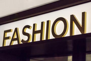 Fashion Signage