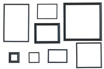 Classic wooden black frame