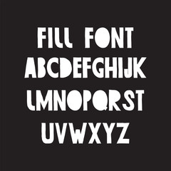 working font