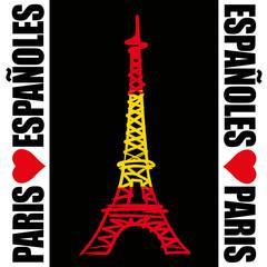 Paris - Tour Eiffel - Espagnol