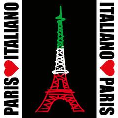 Paris - Tour Eiffel - Italiano