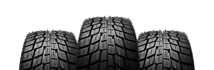 Tires isolated