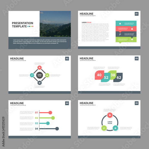 Infographic Ideas infographic proposal template : colorful Abstract presentation templates, Infographic elements ...