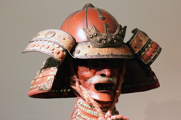 Japanese samurai  mask