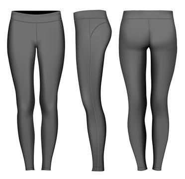 Women full length tights.