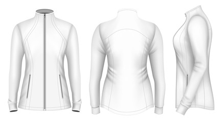 Softshell jacket for lady.